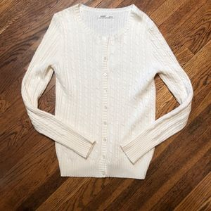 Old Navy Women's Cream Sweater Size M